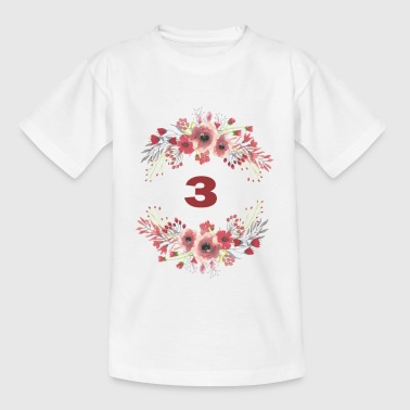 3rd birthday - Kids' T-Shirt