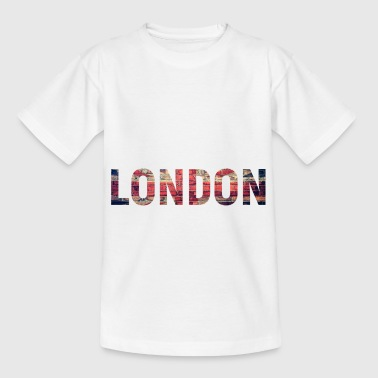 London Flagge - Kinder T-Shirt