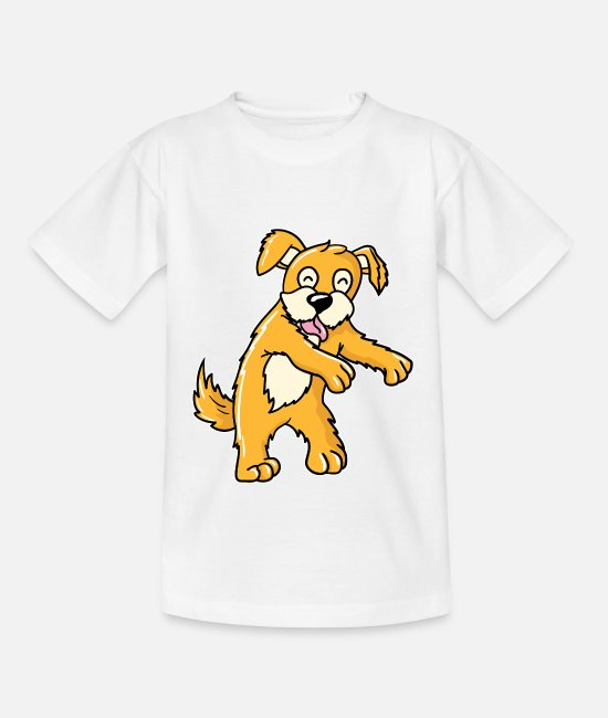 Dog Dancing T-Shirts - Dancing dog shirt - Kids' T-Shirt white