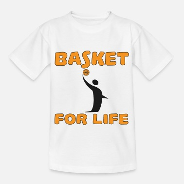 Handball Basket for life - Kids' T-Shirt