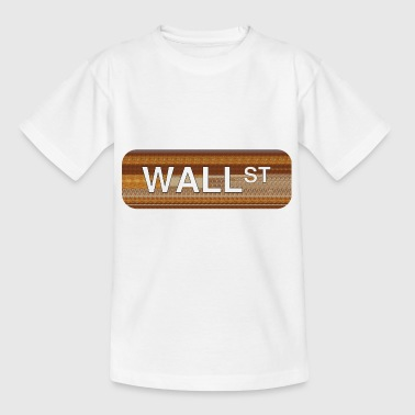 Wall Street - Kids' T-Shirt