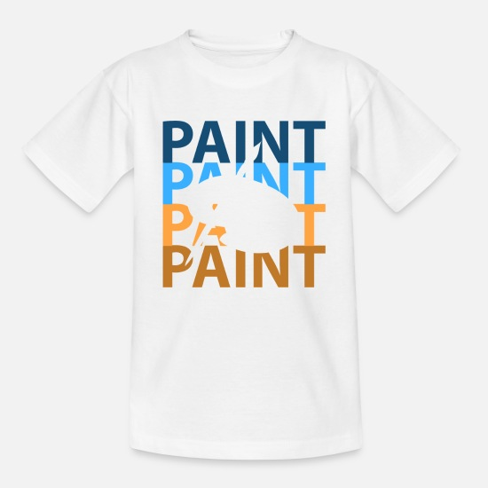 Painting T-Shirts - To paint - Kids' T-Shirt white