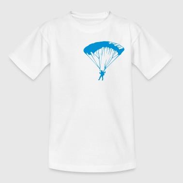 Fallschirm parachute (1 color) - Kids' T-Shirt