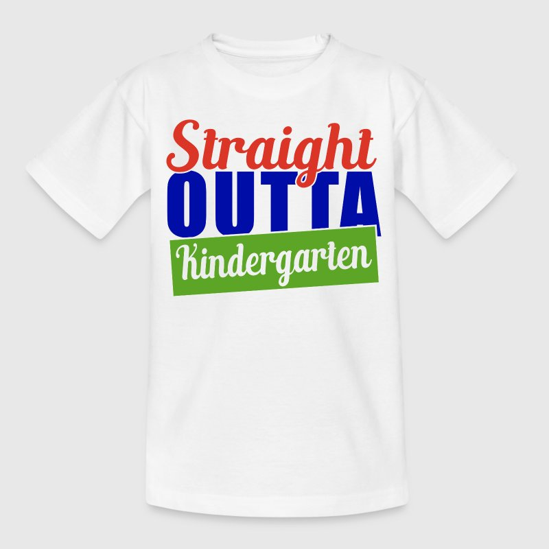 KINDERGARTEN - STRAIGHT OUT - Kinder T-Shirt