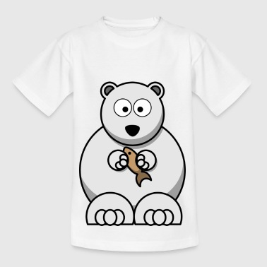 White Bear - Kids' T-Shirt