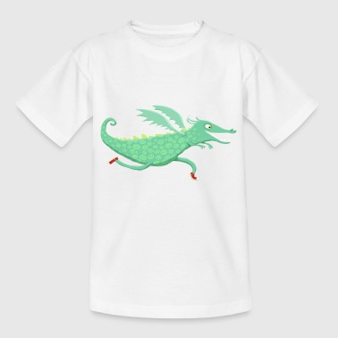 Renndrache - Kinder T-Shirt