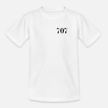 Lucky Number Number 707 lucky number - Kids' T-Shirt