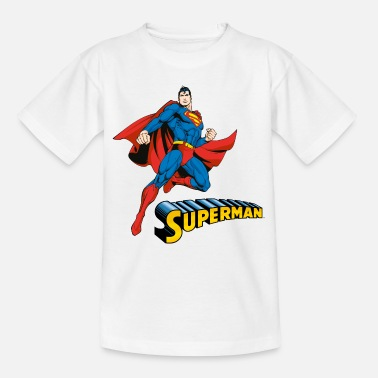 Officialbrands Superman Pose Tee shirt manches longues Enfant - T-shirt Enfant