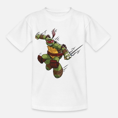 TMNT Turtles Raphael Ready For Action - Maglietta per bambini