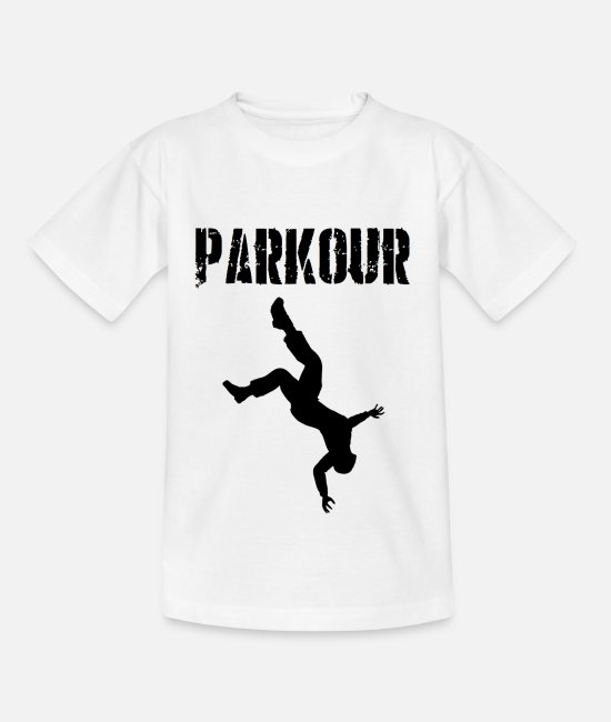 Freestyle T-Shirts - Freestyle, parkour, athletic, fitness, giftidea - Kids' T-Shirt white