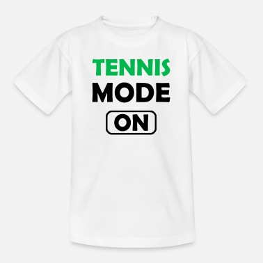 Tennisschläger Tennis Mode On - Kinder T-Shirt