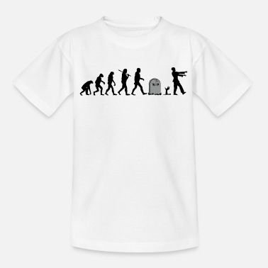Zombie Evolution Undead Zombie Evolution - Kids' T-Shirt