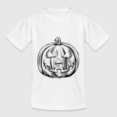 HALLOWEEN KÜRBIS - Kinder T-Shirt