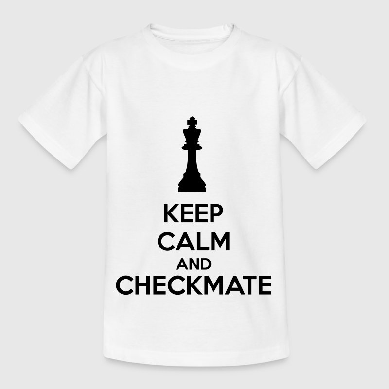 Keep Calm And Checkmate   - Kids' T-Shirt