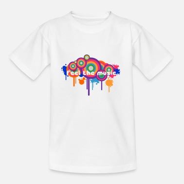 feel the music - Kinder T-Shirt