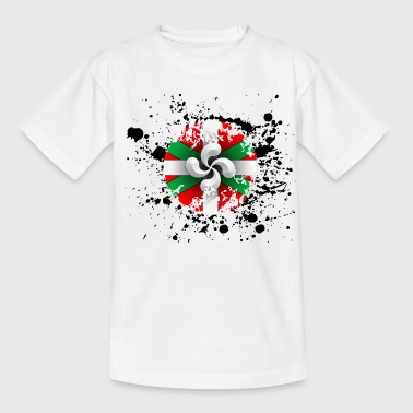 Croix Basque, grunge design - T-shirt Enfant