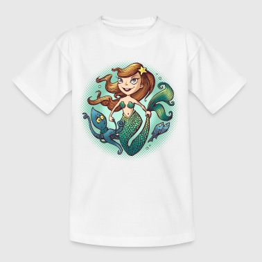 Mermaid - T-skjorte for barn