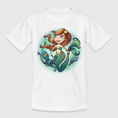 Mermaid - Kinderen T-shirt