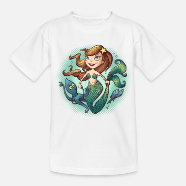 Collections Mermaid - T-shirt barn
