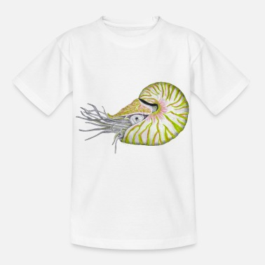 Perlboote Nautilus hellgruen/light green - Kinder T-Shirt
