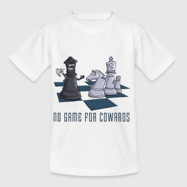 chess_no_game_for_cowards_11_2016 - Kinder T-Shirt