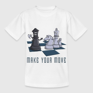 chess_make_your move_11_2016 - Kinder T-Shirt