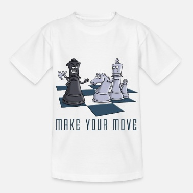 Schach chess_make_your move_11_2016 - Kinder T-Shirt
