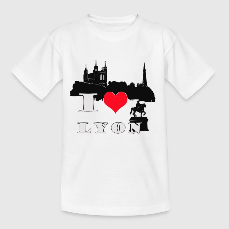 i love lyon - T-shirt Enfant
