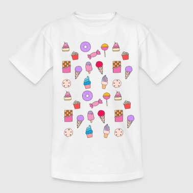 Candy, sweets & cake - Kids' T-Shirt