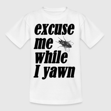Yawn Excuse me while I yawn - Kids' T-Shirt