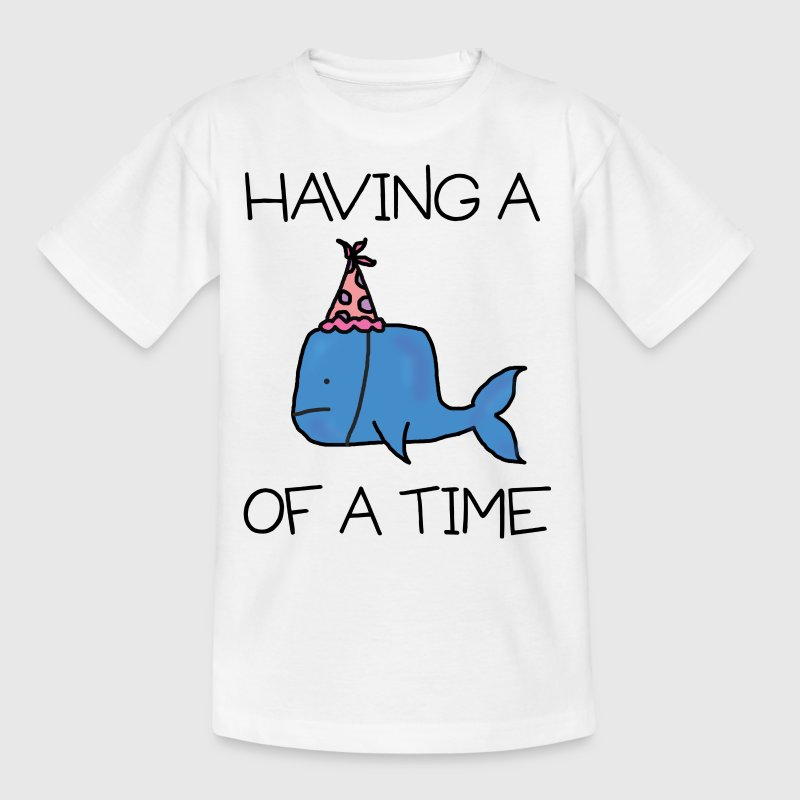 Whale of A Time - Kids' T-Shirt