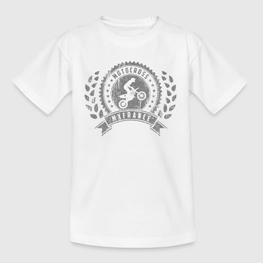 Motocross Retro Champion - T-shirt Enfant