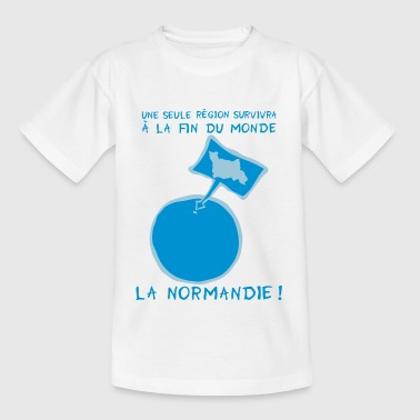 normandie fin monde region 21 12 12  - T-shirt Enfant