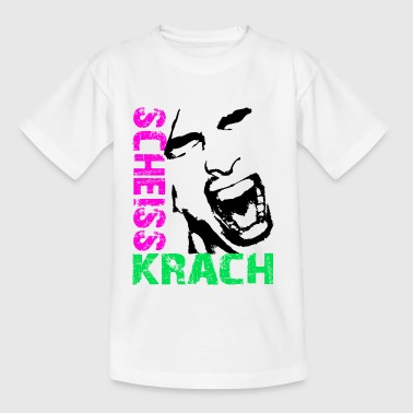 Scheiss Krach / Lärm / Loud - Kinder T-Shirt