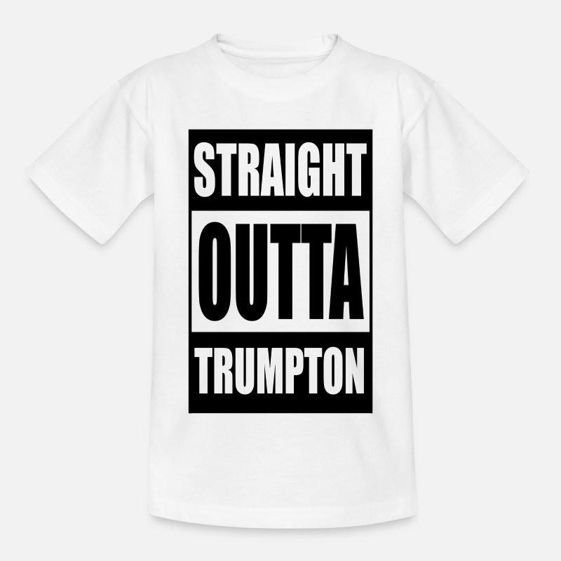 Straight Outta Trumpton T-Shirts - Straight Outta Trumpton - Kids' T-Shirt white