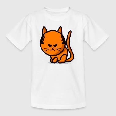 cat grumpy cat - Camiseta niño