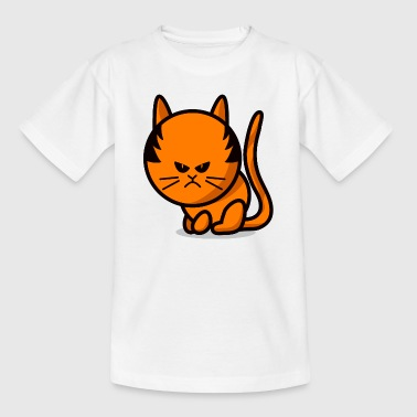 cat grumpy cat - T-shirt Enfant