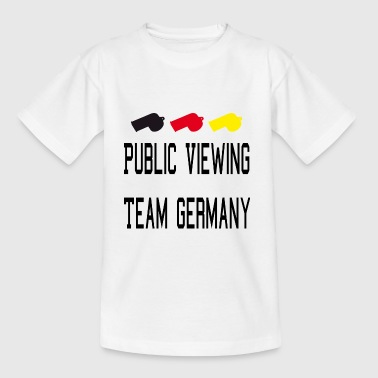 Public Viewing Germany - Kinder T-Shirt