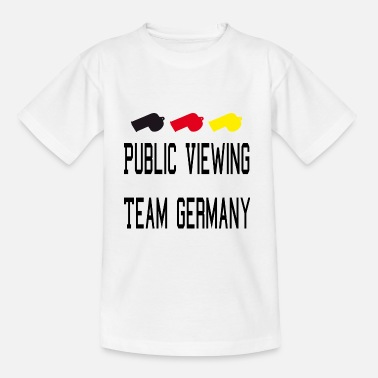 Public Viewing Public Viewing Germany - Kinder T-Shirt