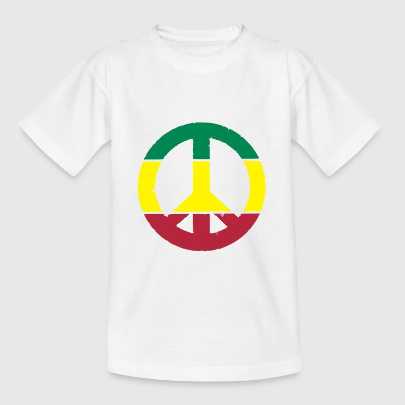 Peace and love rasta - T-shirt Enfant