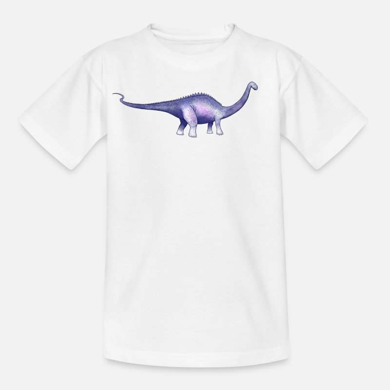 Diplodocus T-Shirts - Dippy the Diplodocus - Kids' T-Shirt white