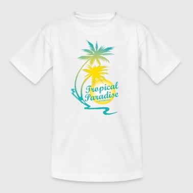 TROPICAL PARADISE - T-shirt Enfant
