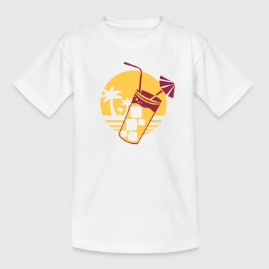 longdrink sunset - Kinderen T-shirt
