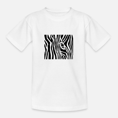 Zebra Stripes Zebrastreifen / zebra stripes (1c) - Kinder T-Shirt