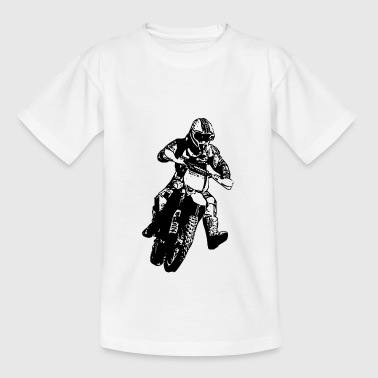 enduro black - Kinderen T-shirt