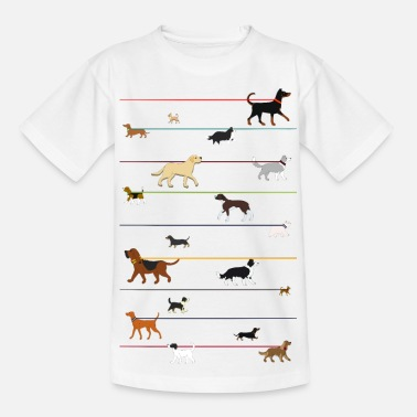 Chihuahua Dogs on a leash 1 - T-shirt Enfant