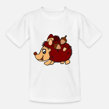 Lilü Petit lilü ~ little Igel ~ - Kinder T-Shirt