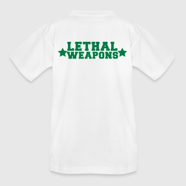lethal weapons with star  - Kids' T-Shirt