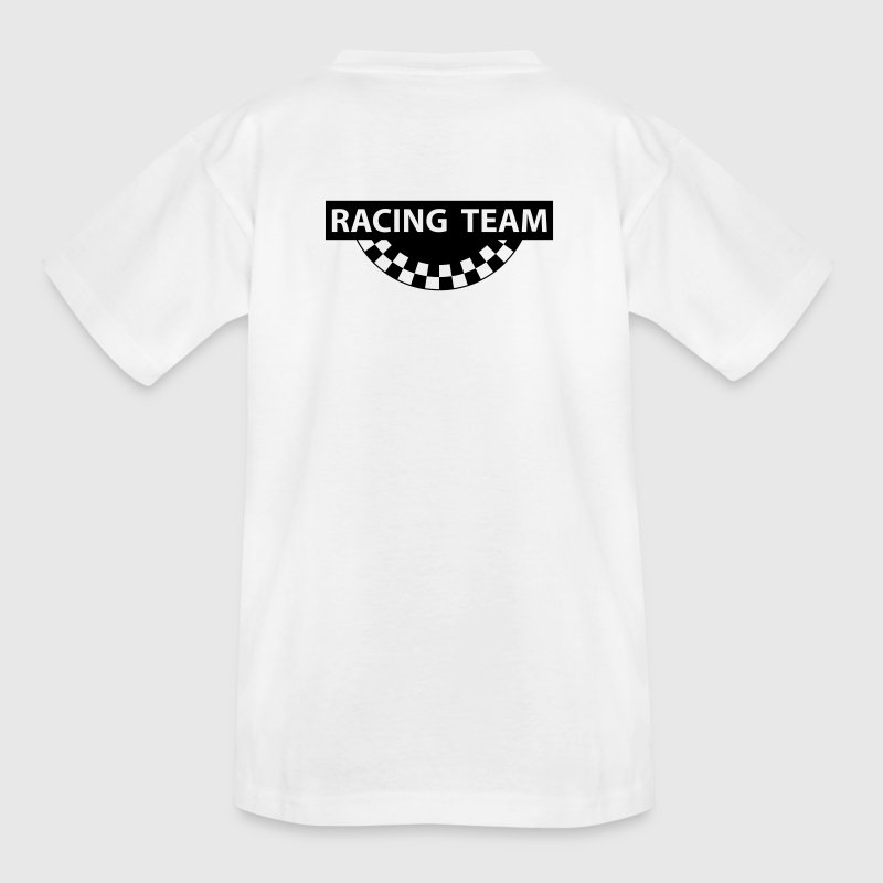Racing team, Logo, 1fb - Kinder T-Shirt