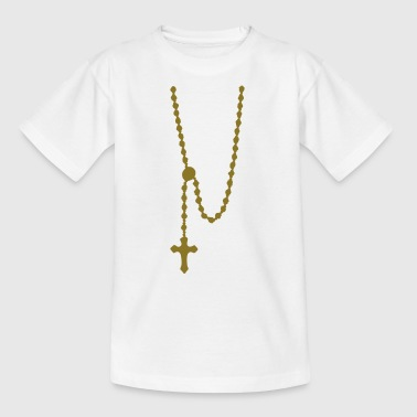 rosary religion_g1 - Kids' T-Shirt